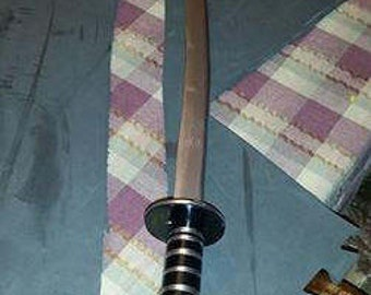 Prop curved Ninja sword