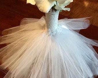 Custom Made Wedding/Bridal Shower Tull Centerpieces