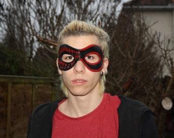 Harley Quinn Handmade Leather Mask