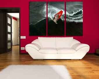 Surfing Wall Decor Surfing Ocean Surfing Canvas Motivation Surfing Poster Sport Surfing Wall Art Surfing Print Motivation Wall Decor