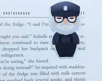 George RR Martin - Magnetic bookmark - game of thrones || book lover gift | bookmark | bookish | bookmarks | got | magnetic bookmarks