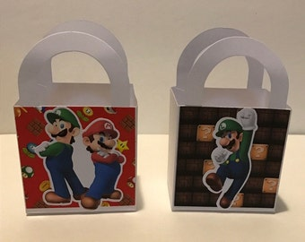 Super Mario Bros. mini favor box