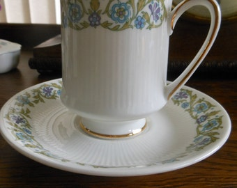 Paragon Pandora coffee cup and saucer