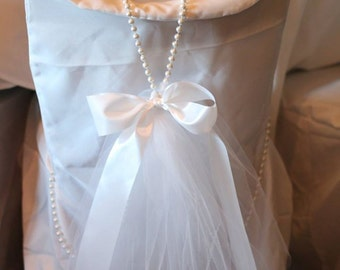Tiffanys Inspired Bride Chair with Place card
