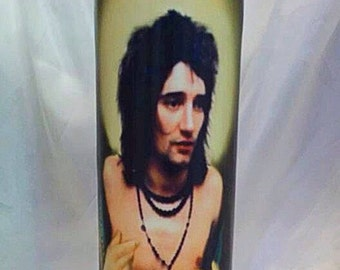 Saint Rod Stewart Prayer Candle