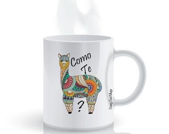 Como Te Llama 2 - Llama Coffee Mug