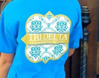 Tri Delta T-shirt, Sorority T-shirt, Delta Delta Delta T-shirt, Tri Delta Fun T-shirt