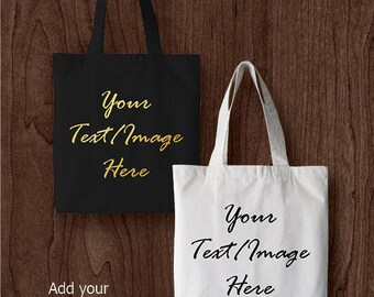 Personalised tote/ shopper bags