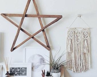 MAYA.Tassel Macrame wall hanging, macramé, bohemian weaving wall art, fiber art, wall decoration