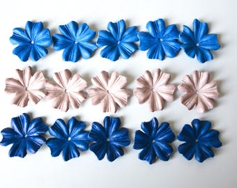 Cornflower leather set of 15 pcs