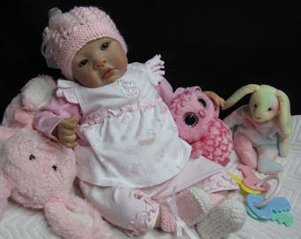 Reborn Baby Doll MADE TO ORDER Newborn Shyann Sculpt Handmade Art Babies