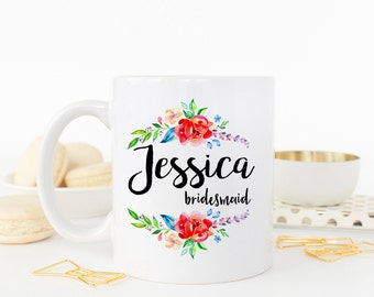 Wedding Party Gift, Bridesmaid Mug, Bridesmaid Gift, Bridesmaid, Coffee Mug, Bridesmaid Mug, Bridal Party Gift, Bridesmaid proposal