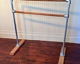4' Wooden Portable Ballet Barre