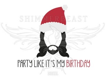 Christmas SVG Cut File | Party Like it's My Birthday Jesus svg | Funny Christmas svg | Jesus svg | Christmas SVG design | Christmas SVG