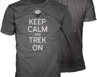 Keep Calm and Trek On Philmont T-Shirt | Eagle Scout Gift | Philmont Trip T-Shirt | Officially Licensed BSA Gear