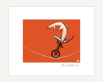 Tightrope Unicyclist