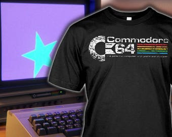 Commodore 64 Shirt - Commodore 64 Hoodie - Commodore 64 Gift for Fan - Funny Birthday Gift for Fan - Sizes up to 5XL!
