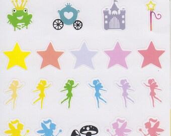 Fairies | 176 | Planner Sticker | Kikki-K | Happy Planner | Erin Condren