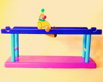 Tumbling Circus Clown