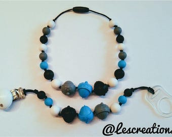 Duo necklace & attached to kids
