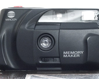 Minolta Memory Maker 35mm Point & Shoot