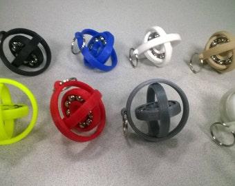New! Gyro-Fidget Keychain Hand Spinner / Fidget Toy!