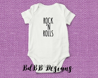 Girls rock and roll clothes