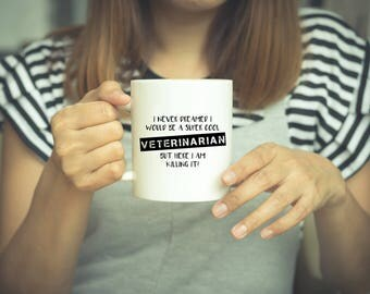 Veterinarian Gift, Veterinarian Mug, Coffee Mug, Vet Tech, Vet Gift, Animal Lover, Graduation Gift, Gift, Dog Lover Gift, Veterinarian Gifts