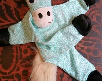 Pony Lovey, Horse Lovey, Baby shower, Horse Baby Toy, Sensory, Blankie, lovie