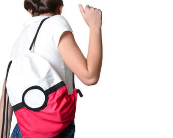 Pokemon  Pokeball backpack   case   pencil case