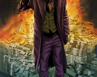 The Joker Dark Knight Art A3 Limited Edition Print