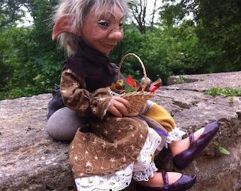 The Eldritch OOAK Fantasy ArtDoll Froud inspired. Dark Crystal/labyrinth/sculpture/goblin/faerie