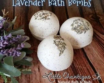 Lavender Bath Bomb  | Natural Bath Bomb | Bath Fizzies | Vegan Bath Bomb | Bath Fizzy Bombs | Bath Fizzy Balls | Aromatherapy | Gift for her