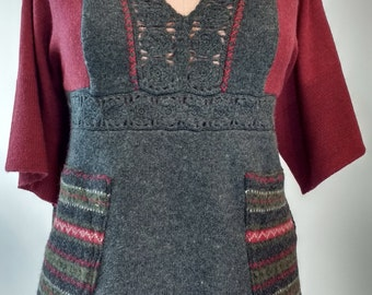 Refashioned Pullover Sweater