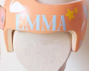 Baby Helmet Decals Etsy - Baby helmet decals