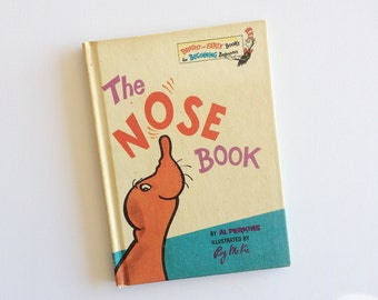 The Nose Book - Roy McKie - Al Perkins 1970 - Dr. Seuss Book Club - Children's Books - Vintage Kids Book - Bright and Early - Nursery Decor