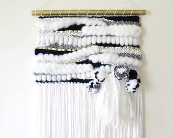 CUMULUS - Large Woven Wall Hanging / Large Woven Wall Art / Weaving / Wall Art / Fiber Art