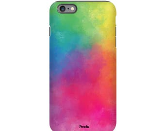 iPhone 7 Plus Case - iPhone 7 Colorful Case - iPhone 6s Slim Case - 6s Plus Tough Case - iPhone 5C Cute Case - iPhone 5S Case Cover