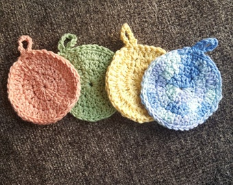 Reusable Face Scrubbies, Pack of 6