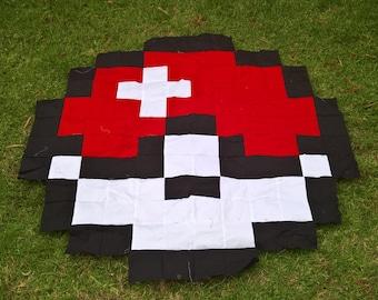Pokeball Blanket