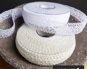 Lace Ribbon * Chantilly * 15 m in. Colors