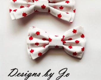 Bow Tie, LAST SET, Dad & Son Bow Ties,  Canadiana Bow Ties, Father Son Bow Tie, Mens Bow Tie, Mens Bowtie, Bow Tie, Boys Bow Tie FS678
