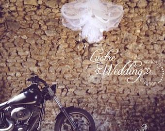 """Suspension wedding decoration """"chandelier wedding"""""""