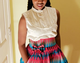 Ama Skirt with Bow