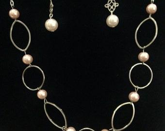 Dancing Hoops Necklace