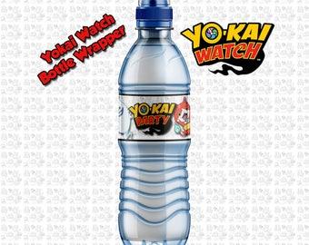 Yokai Watch Water Bottle Wrapper