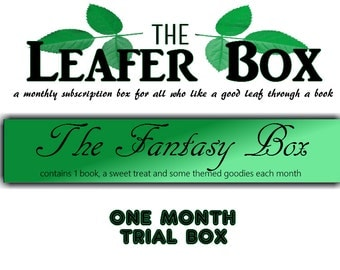 Leafer Box - One Month Trial Book Box - The Fantasy Box