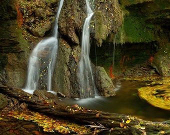 Waterfall in Auvergne