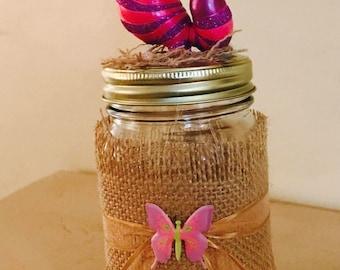 Set of 25 Mason jar party Favor Alice in Wonderland
