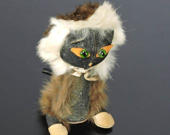 Real Fur Cat Creature